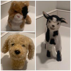 American Girl Doll Retired Pets Lot, Honey the Dog, Ginger, Josefina's Goat