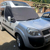 Screen Cover Fiat Doblo Black Out Blind Curtain Wrap Frost Camper Van 2010 on