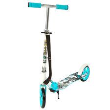 Scooter Roller Tretroller Cityroller Kinderroller klappbar 205 mm Wheel blau NEU