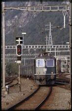 35mm slide+© SBB CFF FFS Re 4/4 II 11314 Brig Switzerland 1982 original