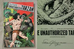Signed #'d 1st Ed UNAUTHORIZED TARZAN Joe Gill Sam Glanzman HARDCOVER DARK HORSE