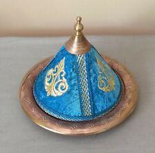 Mini Moroccan Decorative  Ceramic Bottom Tajine Serving Appetizer Dish & Other