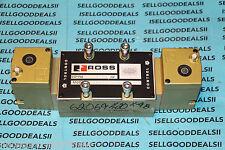 Ross W7077C6332 Pneumatic Solenoid Valve 110-120VAC New