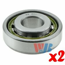 Pair of 2 New Front Outer Wheel Bearing WJB WBB01 Interchange B-01