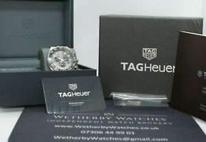 Tag Heuer Formula One F1 Chronograph anthracite, RRP £1,650, full set, CAZ1011