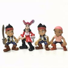 """Lot4 Disney Captain Hook of Jake And The Neverland Pirates 3.5""""Action Figure Toy"""