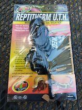 "ReptiTherm Mini Uth Mat Heater 1-5 Gallon Reptile Terrarium 4""x5"" Heating Pad"