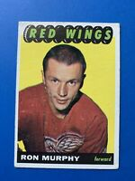 Ron Murphy 1965-66 Topps Vintage Hockey Card #111 Detroit Red Wings