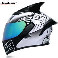Motorcycle Helmet Racing Off-road Dual Lens DOT Approved Modular Flip Up Helmets