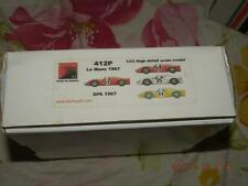 FEELING 43 1/43 FERRARI 412P LM67 SUPER DETAIL KIT FEELING43