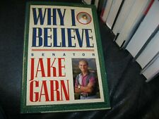 New listing Why I Believe Jake Garn Mormon Book Autographed Copy