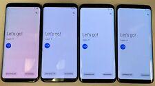 Lot of 4 Samsung Galaxy S8 SM-G950U - 64GB - Midnight Black (Verizon) Phones
