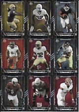 2015 BOWMAN ROOKIE RAINBOW BLACK BORDER NICE (9) CARD LOT FREE COMBINE S/H