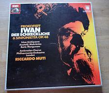 PROKOFIEFF Prokofiev TAS Ivan der Terribile ARCHIPOWA MUTI EMI HMV 2LP scatola