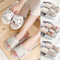 Guest Slippers Home Slippers Loafer Flip Flop Shoes Hotel Slippers Linen Shoes