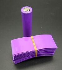 18650 Insulated Battery Sleeve PVC Heat Shrink Tubing Wraps 72mm X 30mm (L*W) AU
