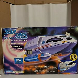 Star Trek TNG Shuttlecraft Goddard, Playmates Collectors Edition 1992 #027781