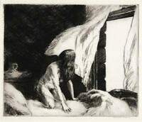 Evening Wind [Etching] : Edward Hopper : Circa 1921 : Archival Quality Art Print