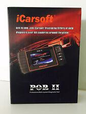 iCarsoft PORSCHE POR II i960 OBD2 Fault Code Reader ECU ABS OIL SERVICE RESET