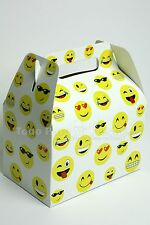 12 Emoji Goody Bags Emoji Treat Boxes emoji Candy Bags Bolsas Cajas Para Dulces
