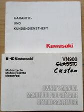 Kawasaki VN 900 Custom Betriebsanleitung Bedienungsanleitung