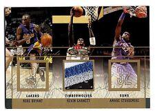2004 Fleer Mystique Rare Finds Kobe Bryant Kevin Garnett 5 Color PATCH /30