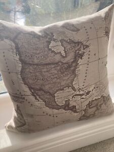 JOHN LEWIS FABRIC  cushion cover with feather filling