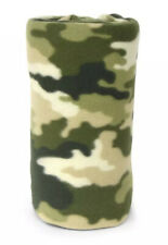 "NEW Mainstays Fleece Throw Blanket 50"" x 60""  Camouflage Military Green"