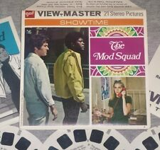 """GAF """"THE MOD SQUAD"""" View-Master Set, #B 478-""""Bad Man on Campus""""  Dated 1968, CBS"""