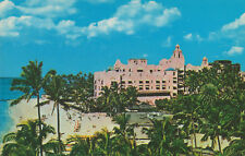 Postcard HI Royal Hawaiian Hotel Waikiki Beach Hawaii Sheraton