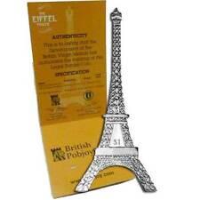 2014 Torre Eiffel Moneda de plata de níquel Uncirculated