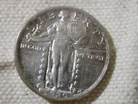1920 U.S Standing Liberty Quarter About Uncirculated