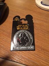 """Disney Star Wars Darth Vader Pin """"If you only knew the power of the dark side"""""""