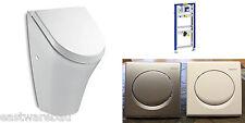 Urinal Element Original Geberit mit Fertigbauset Urinal + Deckel Vorwandelement