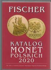 Catalog Monet Polskich 2020 - Fischer  NOWOŚĆ