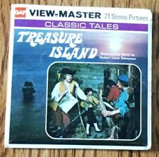 GAF, View-Master - Treasure Island Reel Set w/Story Booklet - Classic Tales