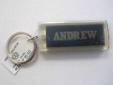 """ANDREW Key Chain Solar 2.5""""x1  Blinks NOS"""