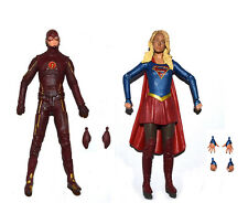 DC Collectibles DCC CW'sTV Series The Flash & Supergirl Loose Action Figure