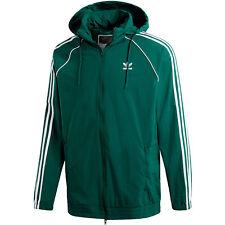 f7c9c3c17 Mens adidas Originals Superstar Windbreaker Jacket in Green.