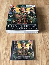 Age Of Empires II 2 The Conquerors Pc Big Box Windows 95/98 Etc