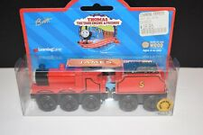 Gullane Learning Curve Wooden Railway Thomas The Tank Train James Red Engine +