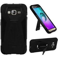 Étuis, housses et coques noirs Pour Samsung Galaxy J3 en silicone, caoutchouc, gel pour téléphone mobile et assistant personnel (PDA)