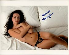 MONIKA MARCICZKIEWICZ hand-signed TOTAL SEXXXY IN BED 8x10 uacc rd coa IN-PERSON