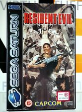 Resident Evil, Sega Saturn, Euro Market, UK PAL, completo, collectible condition