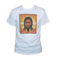Jesus T shirt Russian Icon Christian Art Printed Graphic Retro Tee S M L XL XXL