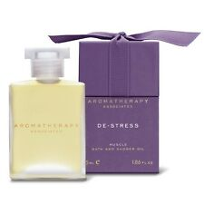 1PC Aromatherapy Associates De-Stress Muscle Bath and Shower Oil 55ml Body Care