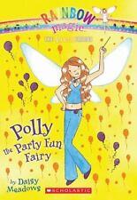 RAINBOW MAGIC Polly the Party Fun Fairy (Brand New Paperback) Daisy Meadows