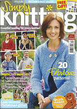 December Simply Knitting Craft Magazines