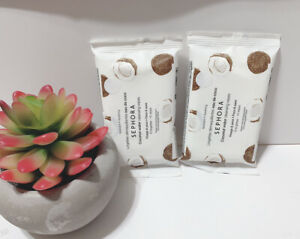 X2 SEPHORA COLLECTION Mini Cleansing Wipes - Coconut Water