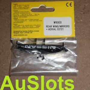 "Scalextric W9303 Nissan 350Z JGTC ""Xanavi"" Wing, Mirrors, Aerial e.g. C2721"
